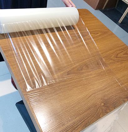 Protetive Film for Wooden Surfaces